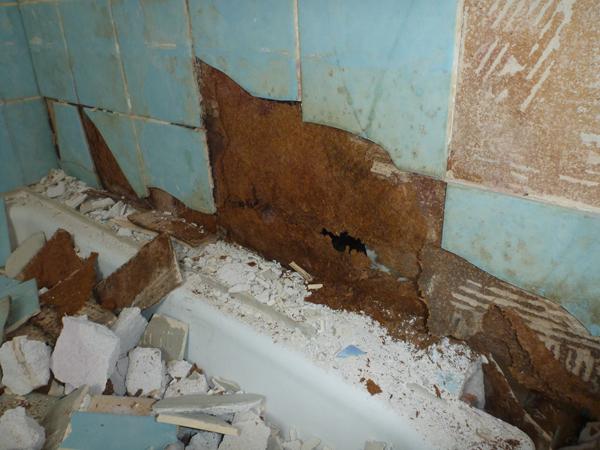 Die Dusche Ist Kaputt : machen wir uns an die Raumtrocknung. Und dann an die Renovierung